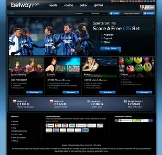 Betway offers bonus